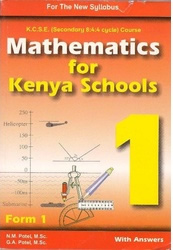 Mathematics For Kenyan Schools Form 1