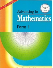 Advancing In Mathematics Form 1