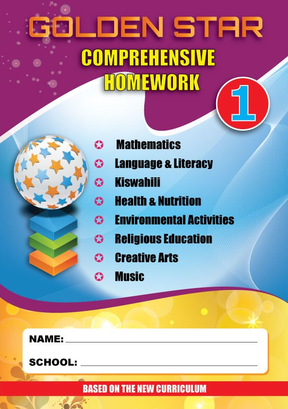 Golden Star August Homework Grade 1