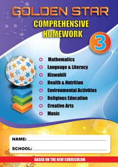 Golden Star Holiday Homework Grade 3