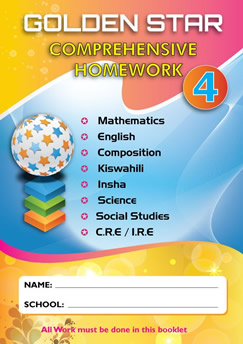 Golden Star Holiday Homework STD 4