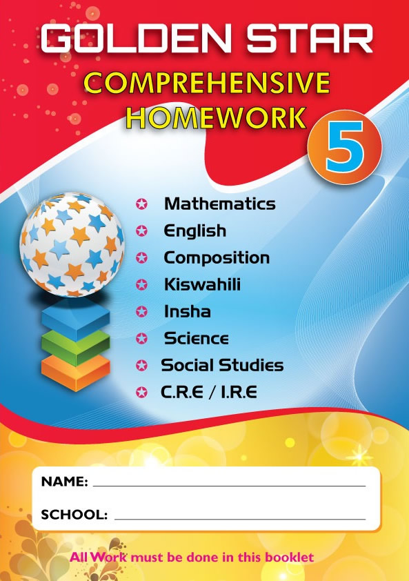 Golden Star August Homework Std 5