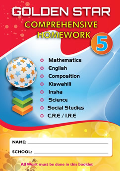 Golden Star Holiday Homework STD 5