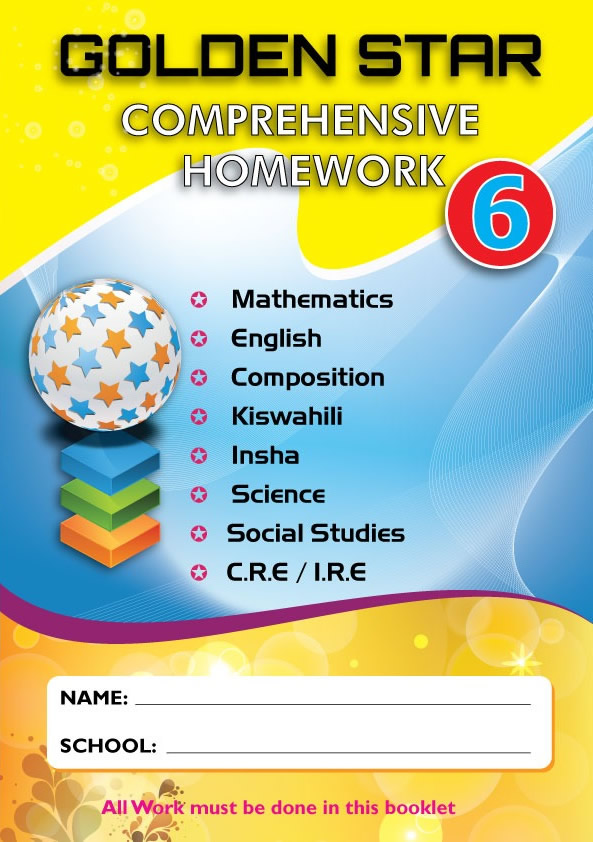 Golden Star August Homework Std 6