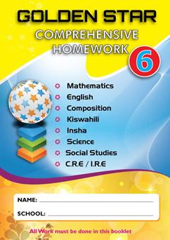 Golden Star Holiday Homework STD 6