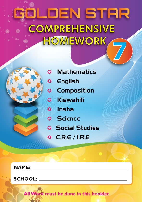 Golden Star August Homework Std 7