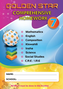 Golden Star Holiday Homework STD 7