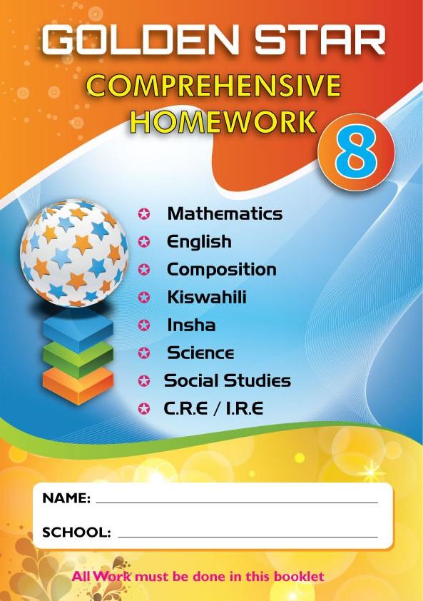 Golden Star August Homework Std 8