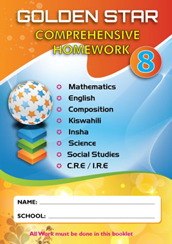 Golden Star Holiday Homework STD 8