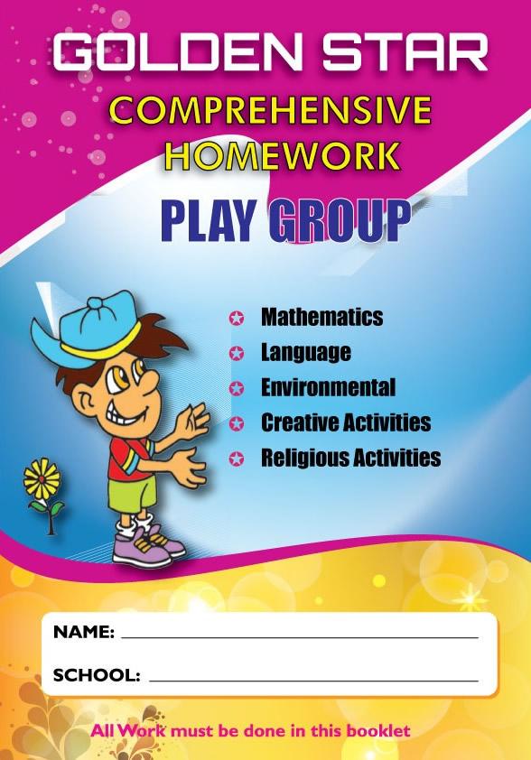Golden Star August Homework Playgroup