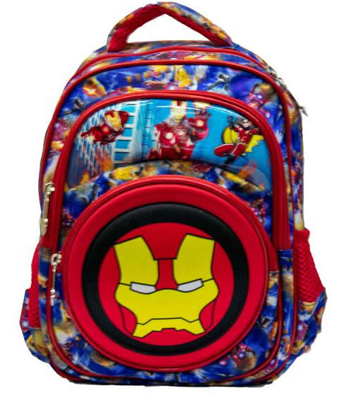 Ironman  Preschool 3D backpack Bag