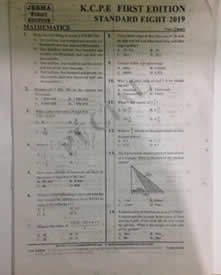 Past Papers For Standard 8