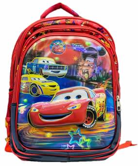 Lightning mc queen 3D backpack