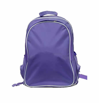 Light Purple bag with removable trolley