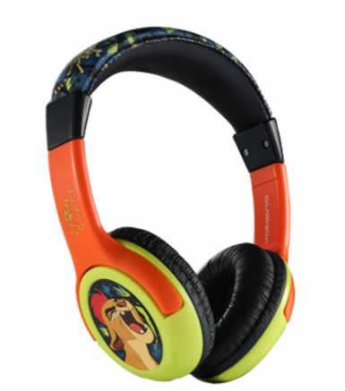 Cartoon Kids Headphones Lion guard