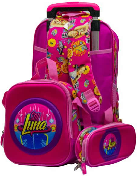 Luna Girl 3in1 Detachable Trolley Bag