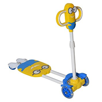 Minion 4 wheel scooter