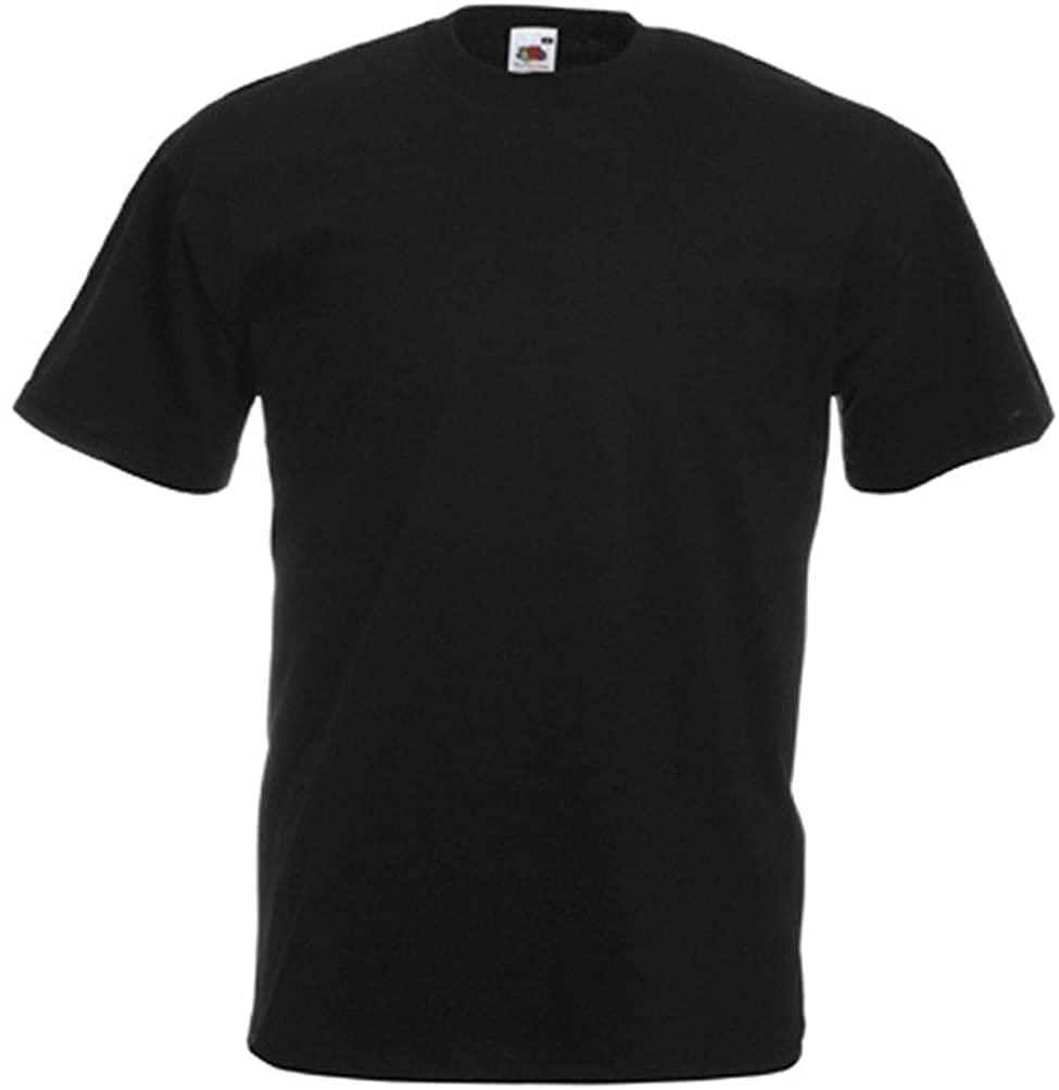 Tshirt Thick Plain Black