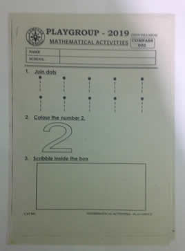 Playground Mathematical Activities Code 002