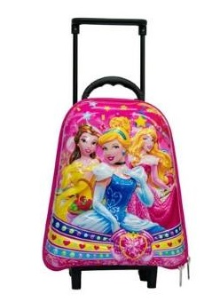 Princess Preschool Trolley Bag