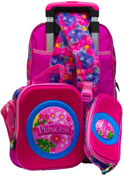 princess 3in1 Removable Trolley Set