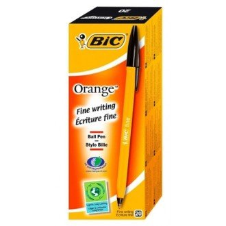 Bic Fine Point Biro Black 20pc box