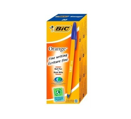 Bic Fine Point Biro Blue 20pc box