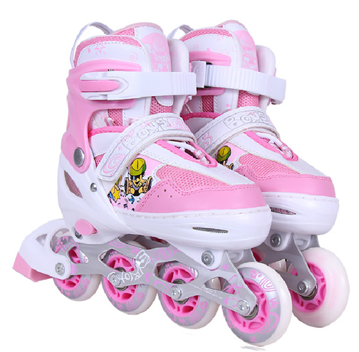 Pink Children Skates Adjustable