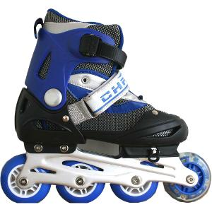 Blue Children Skates Adjustable