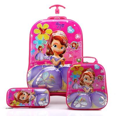 Sophia Suitcase Trolley set 3in1