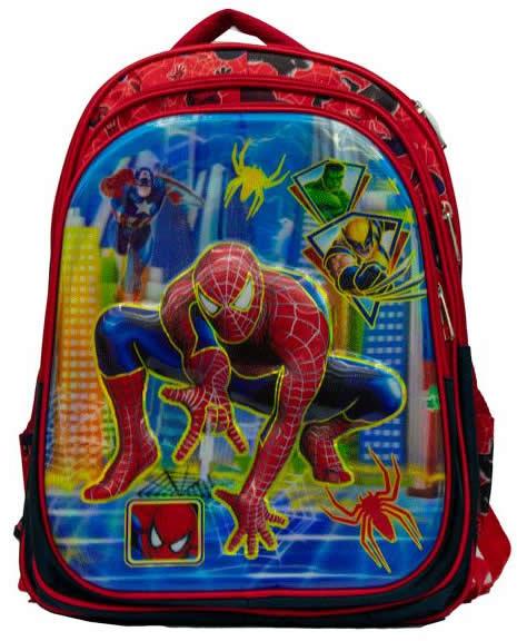 Spiderman Preschool Backpack 3D Bag