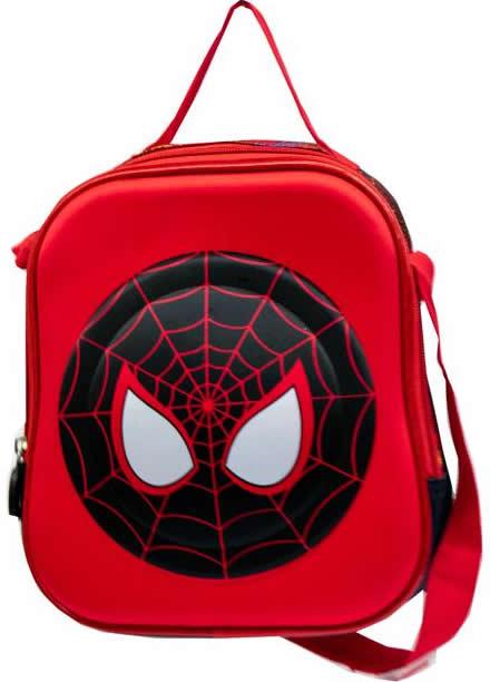spiderman 3D masklunch Bag