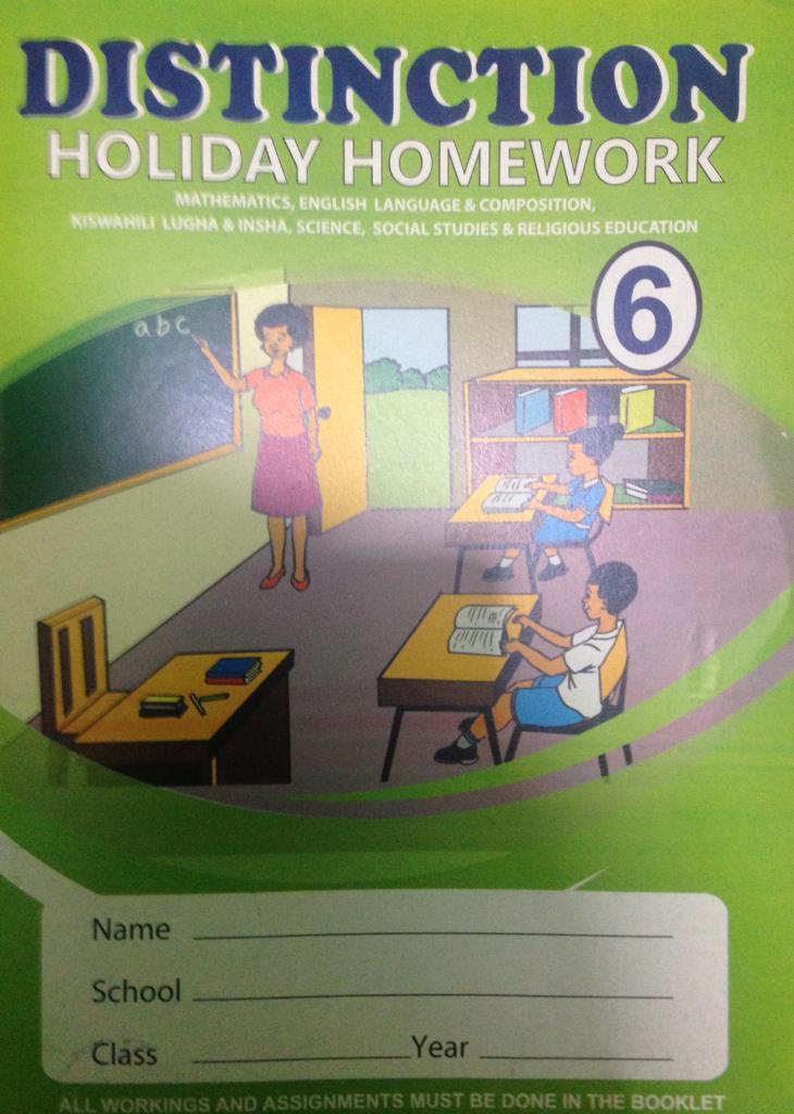 Distinction Holiday Homework STD 6
