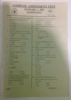 Past Papers For Standard 7