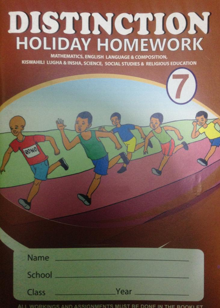 Distinction Holiday Homework STD 7