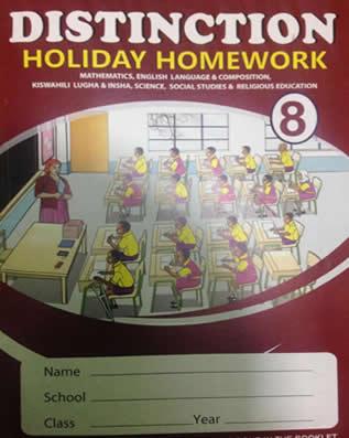 Distinction Homework STD8