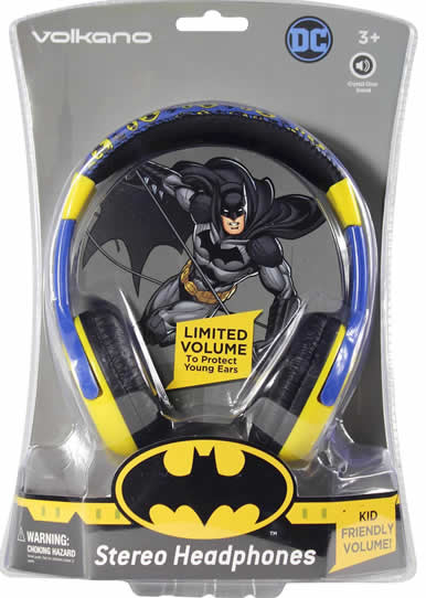 Cartoon Kids Headphones Batman
