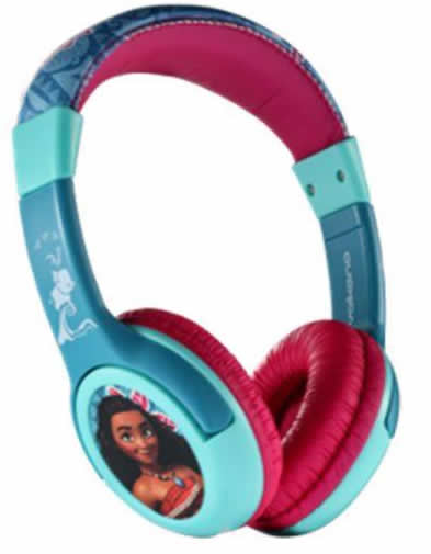 Cartoon Kids Headphones Moana