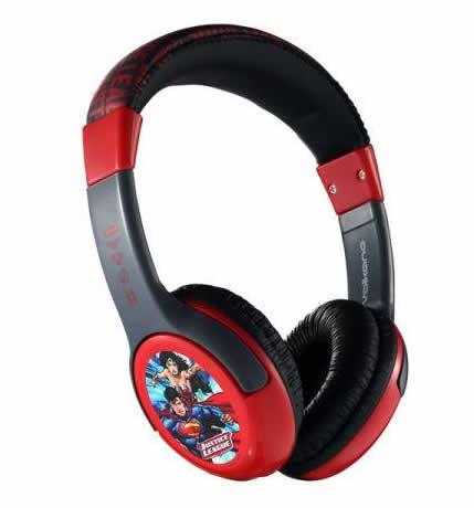 Cartoon Kids Headphones Superman
