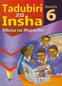 Tadubiri za Insha darasa la 6:Mbinu na mapambo