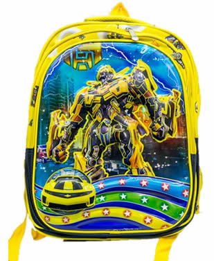 Transformers 3D backpack