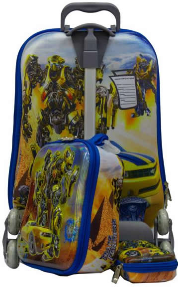 Transformers 3in1 Suitcase Trolley