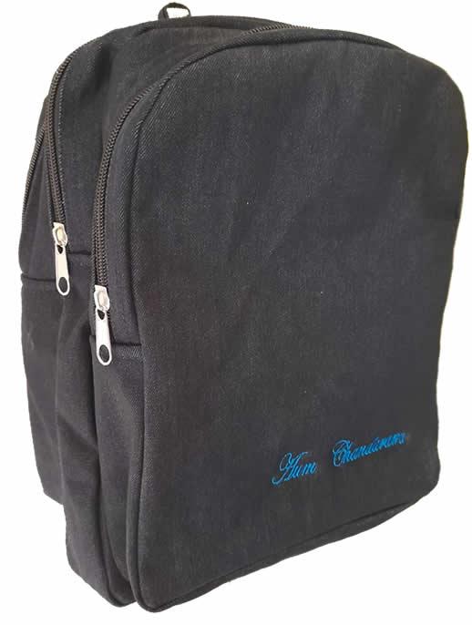 Triple pad Boarding School Bag With Name Print