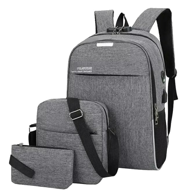 Backpack 3in1 Grey Type F