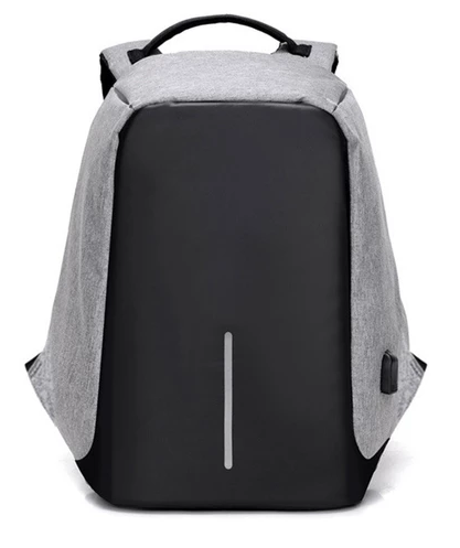 Anti Theft Design Backpacks Grey