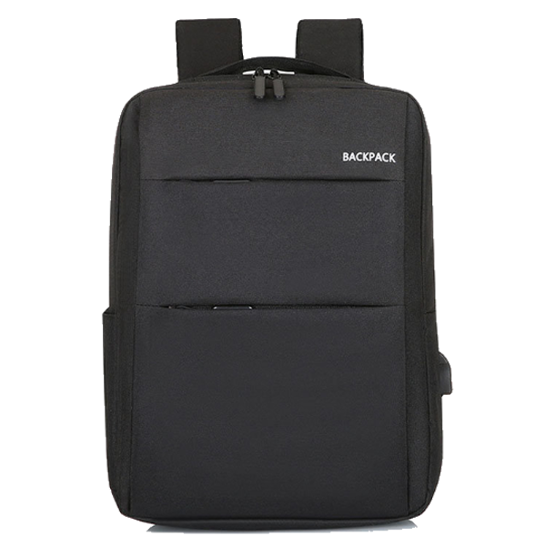 Classic backpack heavy Double Padded Black