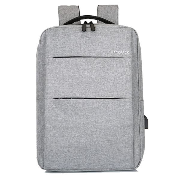 Classic Backpack Heavy Double Padded Grey