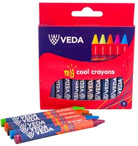 Colouring crayons veda