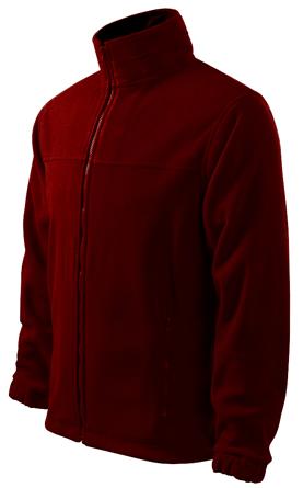 Maroon Fleece Jacket