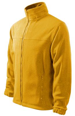 Yellow Fleece jacket